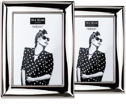 Portraitrahmen silber – breit