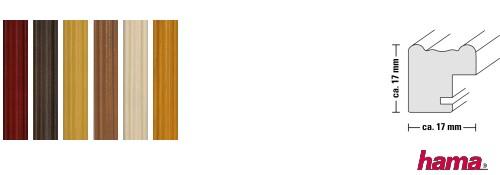 Holz-Bilderrahmen Udine (Hama)