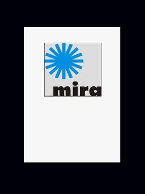Passepartout Mira 1,2 mm in 40x40 cm - individueller Innenausschnitt
