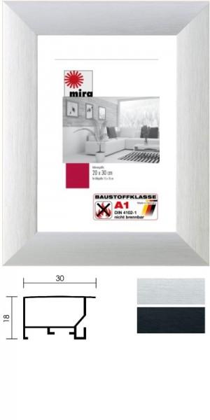 Mira Aluminium-Brandschutzrahmen GRANDO A1 klassifiziert