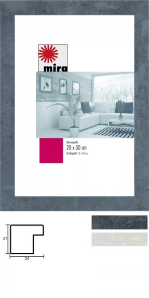 Mira Holz-Wechselrahmen Profil 24