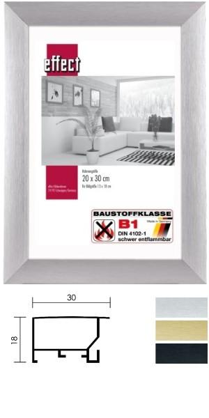 Mira Aluminium-Brandschutzrahmen GRANDO B1 zertifiziert