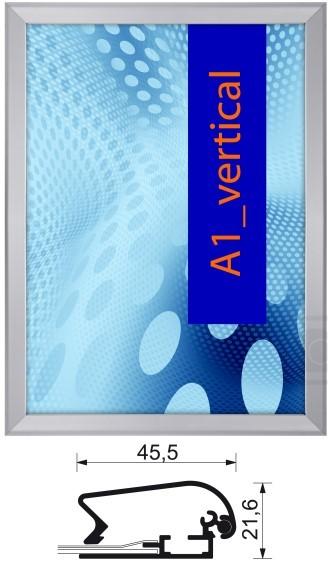 Aluminium-Klapprahmen 45 mm