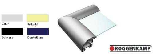 Aluminium-Bilderrahmen Profil B (Roggenkamp)