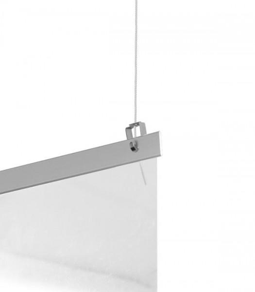 STAS Barriereschirm 100x100 cm zum Aufhängen