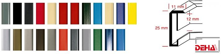 Aluminium-Bilderrahmen Profil 3 (Deha)