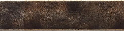 schwarzgrau meliert-Kanten platin