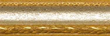 Barockrahmen Mira Profil 31 silber