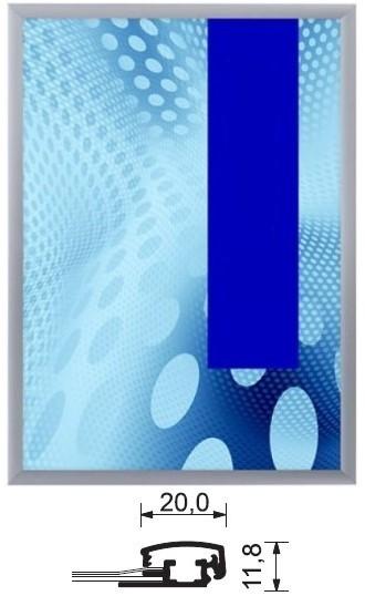 Aluminium-Klapprahmen 20 mm