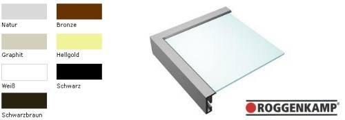 Aluminium-Bilderrahmen Profil K (Roggenkamp)