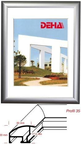 Deha Aluminium-Wechselrahmen Profil 35