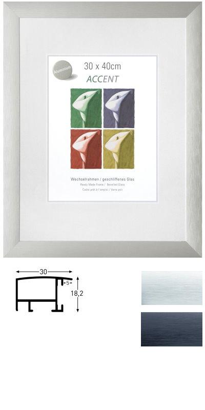 alu wechselrahmen largo 24 x 30 cm. Black Bedroom Furniture Sets. Home Design Ideas