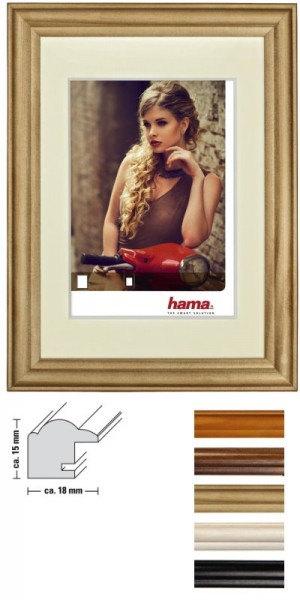 hama Holz-Wechselrahmen Bellina