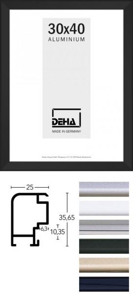 Deha Aluminium Distanz-Bilderrahmen Profil 55