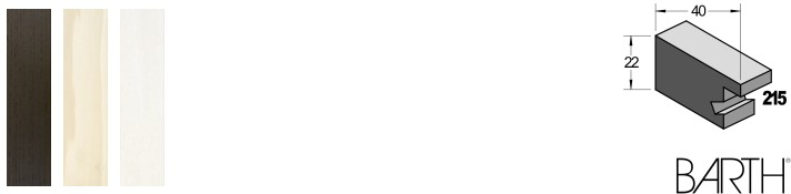 Holz-Bilderrahmen BARTH Serie 215 (Aicham Larson-Juhl)