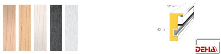 Holz-Bilderrahmen Profil 2042 (DEHA)