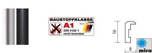 A1 Brandschutz-Bilderrahmen Rundo (Mira)