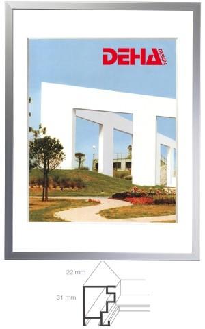 Deha Aluminium Distanz-Bilderrahmen Profil 52