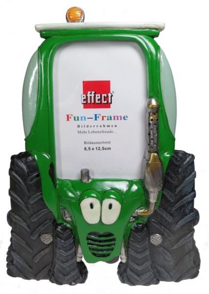 Fun Frame Traktor grün