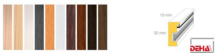 Holz-Bilderrahmen Profil 1532 (DEHA)