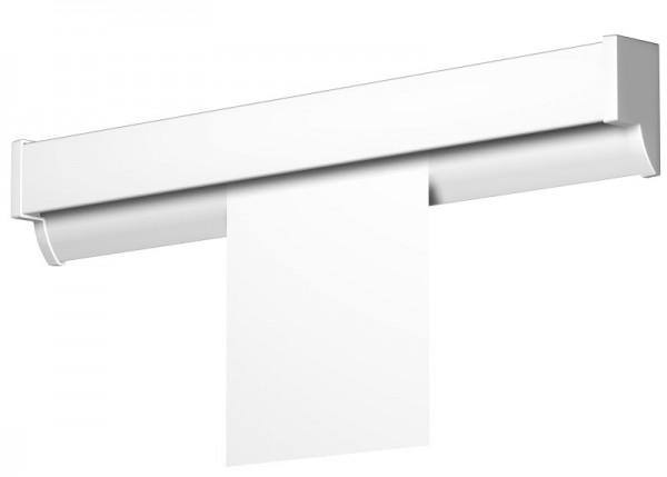 Newly Displayschiene R50 einzeln weiß