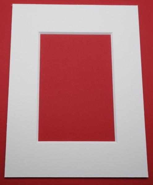 Außen und Innen individuell - Passepartoutkarton 2,4 mm