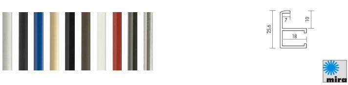 Aluminium-Bilderrahmen Quadro (Mira)
