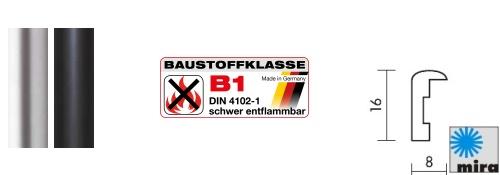 B1 Brandschutz-Bilderrahmen Rundo (Mira)