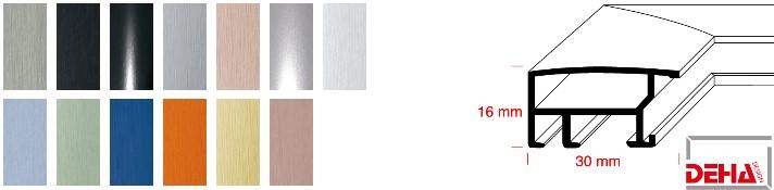Aluminium-Bilderrahmen Profil 40 (Deha)