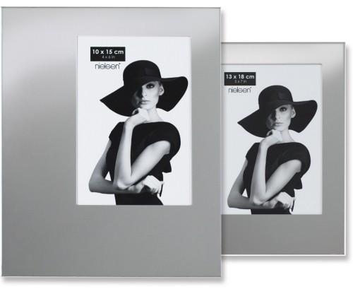 Portraitrahmen silber – Hochformat