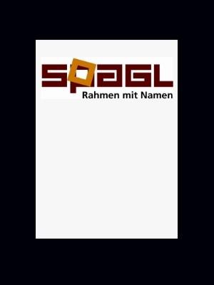 Passepartout Spagl 1,4 mm in 60x60 cm - individueller Innenausschnitt