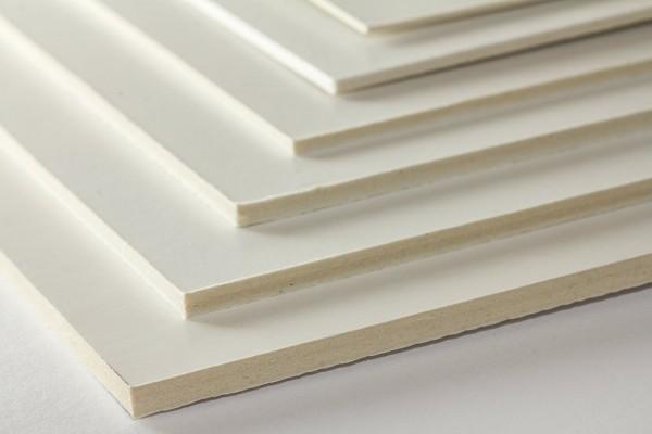 Zuschnitt Siebdruckkarton kaschiert, säurefrei 2,0mm