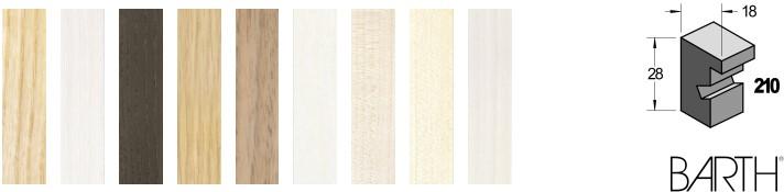 Holz-Bilderrahmen BARTH Serie 210 (Aicham Larson-Juhl)