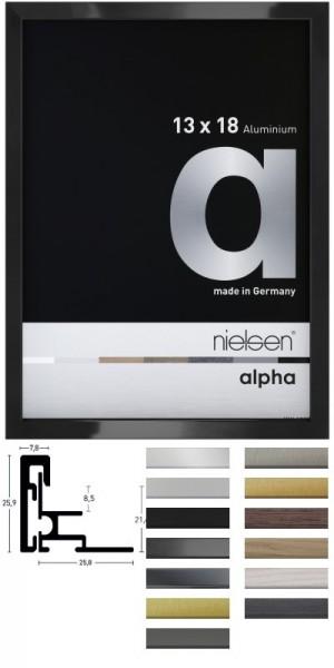 Nielsen Aluminium-Wechselrahmen ALPHA Magnet