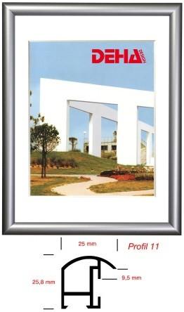Deha Aluminium-Wechselrahmen Profil 11