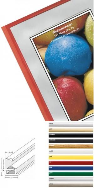 Kunststoffrahmen viele Farben, Glassorten + Maßanfertigung