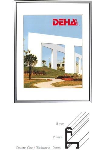 Deha Aluminium Distanz-Bilderrahmen Profil 50