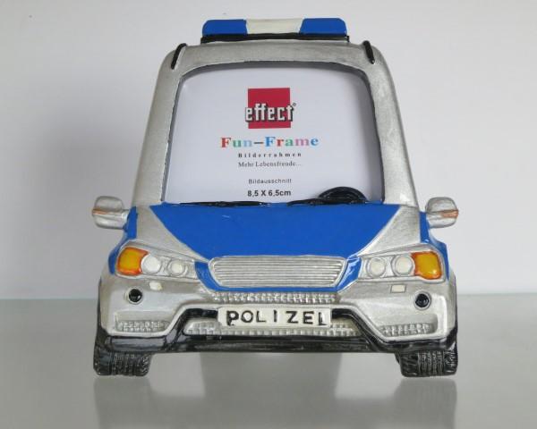 Fun Frame Polizei blau/weiß