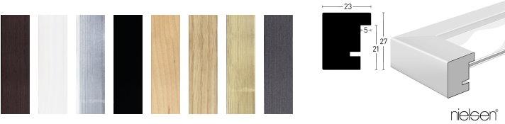 Holz-Bilderrahmen XL (Nielsen)