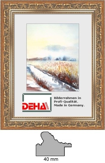Deha Barock-Bilderrahmen Profil B1