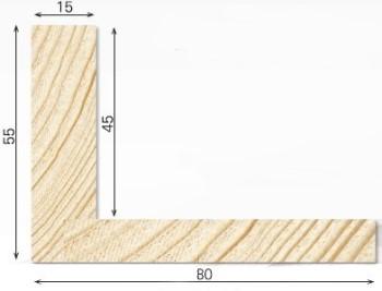 schattenfugenrahmen p4 15 f r keilrahmen mit einer st rke. Black Bedroom Furniture Sets. Home Design Ideas