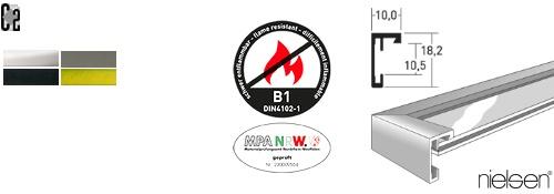 B1 Brandschutz-Bilderrahmen C2 (Nielsen)