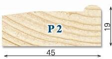 Keilrahmen Premium P2 zum Aufspannen von Leinwänden