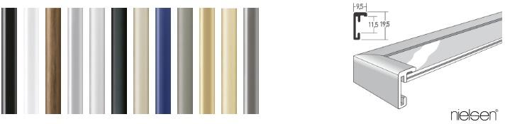 Aluminium-Bilderrahmen Classic (Nielsen)
