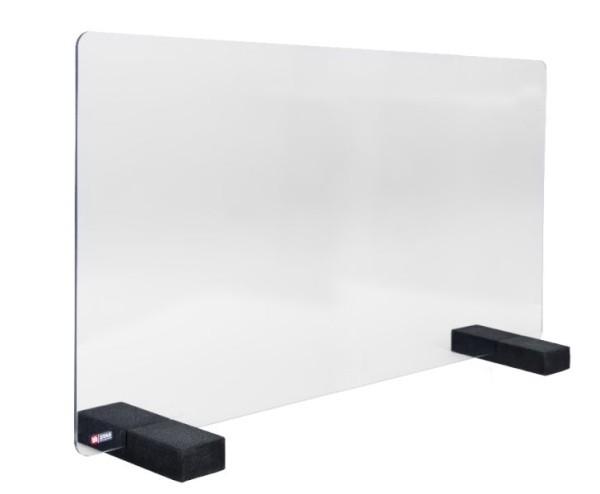 STAS Virenschutzscheibe Acrylglas 75x100 cm x 4mm zum Aufstellen
