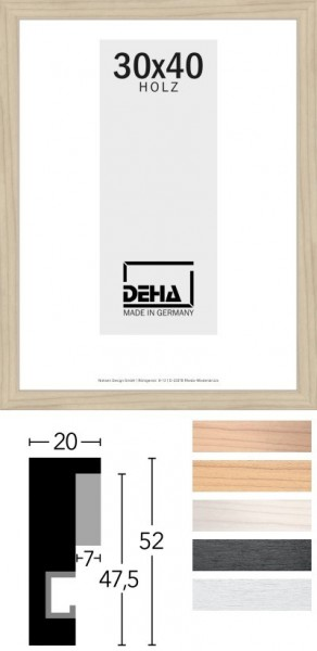 Deha Objekt-Bilderrahmen Profil 2052