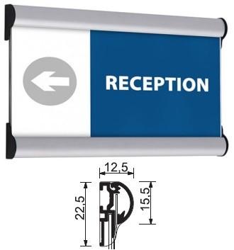 Beschilderungssystem Sign System Snap