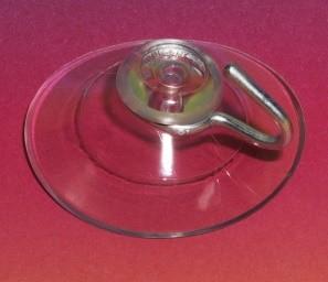 Saugknopfhalter für Glasscheiben