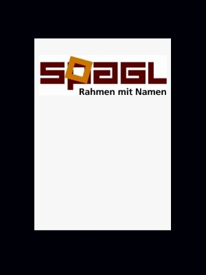 Passepartout Spagl 1,4 mm in 20x20 cm - individueller Innenausschnitt