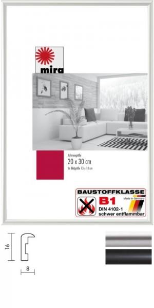 Mira Aluminium-Brandschutzrahmen RUNDO B1 zertifiziert